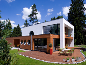 Holzbau Seeburger Irslingen Klimaholzhaus nachher
