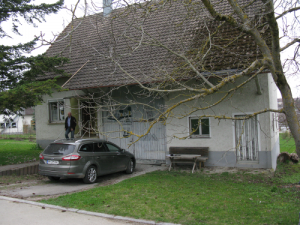 Holzbau Seeburger Irslingen Klimaholzhaus vorher Dunningen