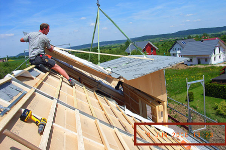 Holzbau Seeburger Bauverlauf